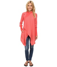 Icebreaker Bliss Wrap Grapefruit Women's Sweater Multi