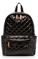 M Z Wallace Mz Small Metro Backpack Black Black Lacquer