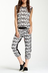 Lauren Moshi Georgia Paris Front Zipper Pant Multi
