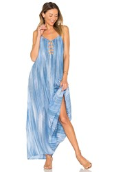 Indah Imagine Maxi Dress Blue