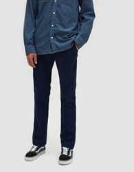 Vans Authentic Stretch Chino In Dress Blues