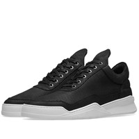 Filling Pieces Low Top Ghost Microlane Sneaker Black