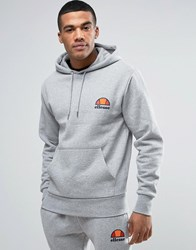 Ellesse Hoodie With Small Logo Grey