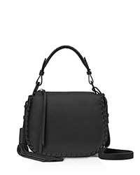Allsaints Mori Top Handle Crossbody Black