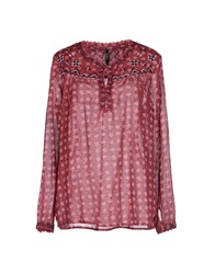 Pepe Jeans Blouses Red