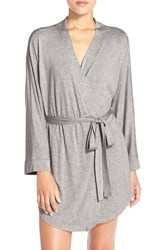 Honeydew Intimates Women's Jersey Robe Heather Grey