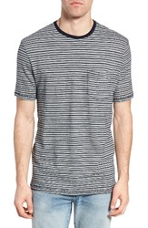 True Grit Men's Stripe Ringer T Shirt