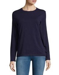 Lord And Taylor Petite Cotton Blend Tee Satellite