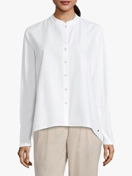 Betty Barclay And Co Cotton Blend Shirt Bright White