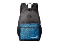 Hurley Mater Printed Backpack Antracite Photo Blue Black White Backpack Bags Gray