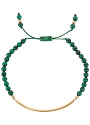 Lola Rose Bishops Road Malachite Beaded Bracelet Green