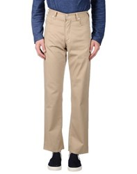 Armani Jeans Trousers Casual Trousers Men Beige