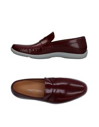 Luciano Padovan Loafers Maroon