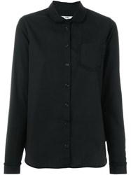 Ymc Peter Pan Collar Shirt Black