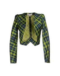 Antonio Berardi Suits And Jackets Blazers Women Acid Green