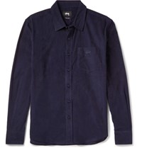 Stussy Cotton Corduroy Shirt Navy
