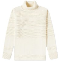 S.N.S. Herning Fisherman Roll Neck Sweat White