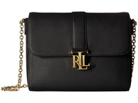 Lauren Ralph Lauren Carrington Gabbi Shoulder Bag Black Handbags