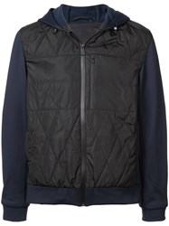Aztech Mountain Larkspur Quilted Hoody Black
