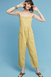 Anthropologie Everyday Jumpsuit Gold