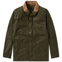 Barbour Orkney Wax Jacket Green