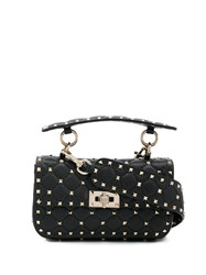 Valentino Garavani Small Spike Bag Black