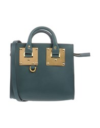 Sophie Hulme Handbags Dark Green