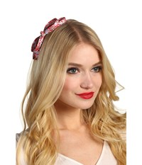 Jane Tran Bowtie Headband Red Headband