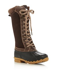 Sporto Dena Cold Weather Duck Boots Brown