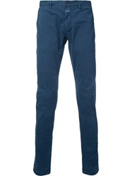 Closed Plain Chinos Blue
