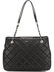 Donna Karan Barbara Tote Bag Black