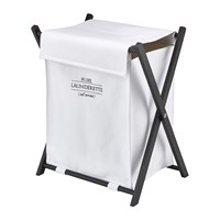 Aquanova Lyra Laundry Basket White