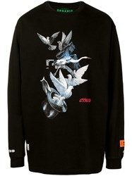 Heron Preston Magic Hat Sweatshirt Black