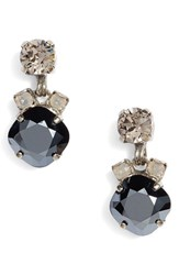 Sorrelli Women's Balsam Crystal Drop Earrings Black