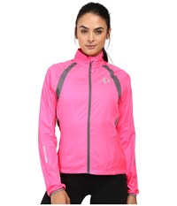 Pearl Izumi W Elite Barrier Cycling Jacket Screaming Pink Smoked Women's Workout Screaming Pink Smoked Pearl
