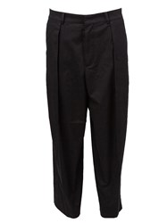 Juun.J Cropped Tailored Trousers Black