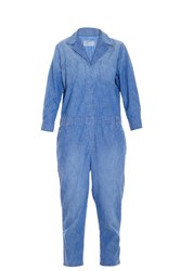 Current Elliott Canal Overalls Blue