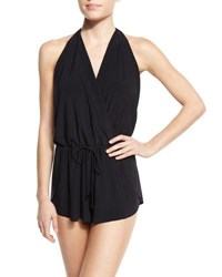 Magicsuit Bianca One Piece Swim Romper Black