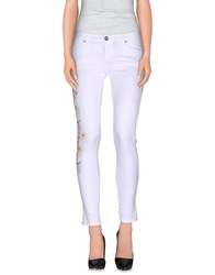Miss Miss By Valentina Casual Pants White