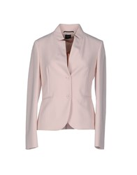 Ter De Caractere Suits And Jackets Blazers Women Light Pink