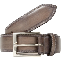 Harris Leather Belt Gray