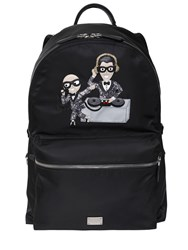 Dolce And Gabbana Dj Designers Nylon Backpack