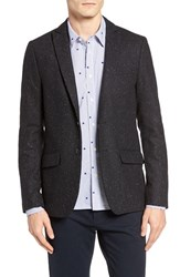 Scotch And Soda Men's Nep Wool Blend Sport Coat