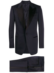 Tom Ford Two Piece Tuxedo Suit Blue