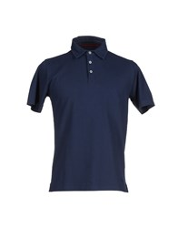 Vintage 55 Topwear Polo Shirts Men Dark Blue