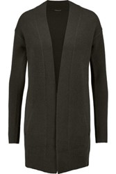 Theory Analiese Cashmere Cardigan Army Green