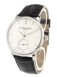 Frederique Constant 'Manufacture Slimline' Analog Watch Stainless Steel