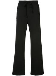 Raf Simons Drawstring Bootcut Sweatpants Black