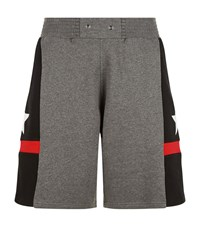 Givenchy Star Print Short Joggers Male Grey