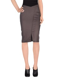 Toy G. Skirts Knee Length Skirts Women Brown